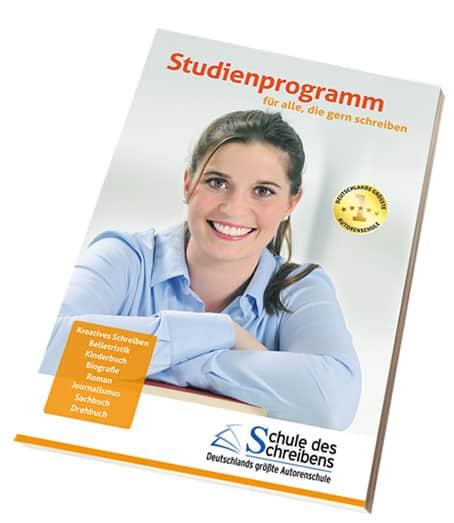 Studienprogramm Schule des Schreibens